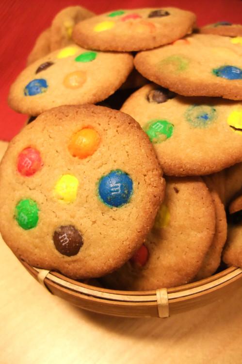 М&М печенье