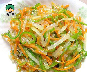 Трехцветный салат