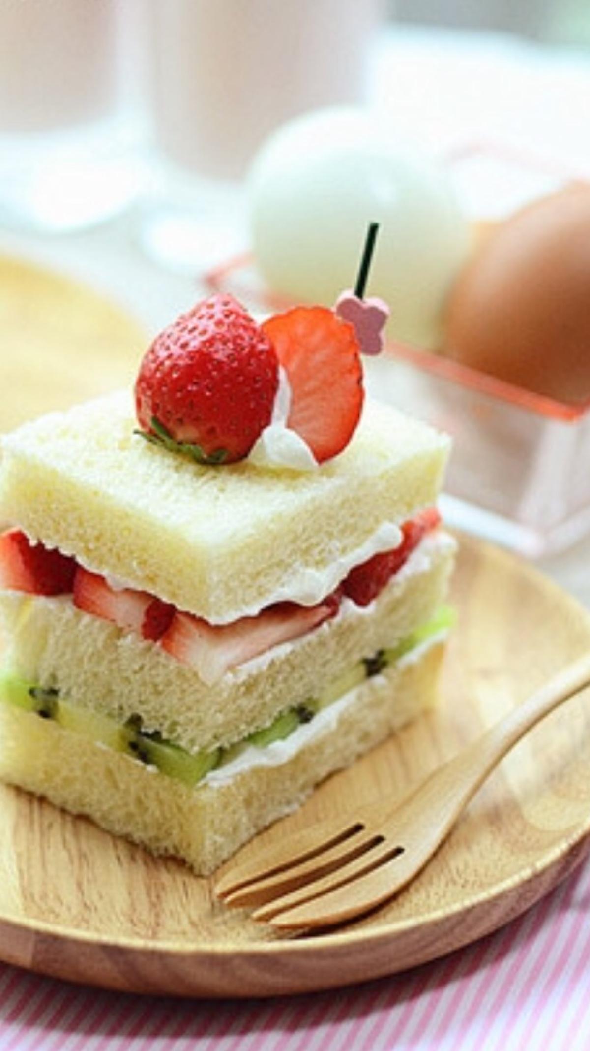 фруктовый бутерброд