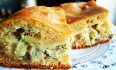 Пирог с капустой на скорую руку рецепт